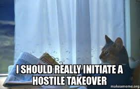 Sophisticated Cat Meme Generator - i should really initiate a hostile takeover sophisticated cat