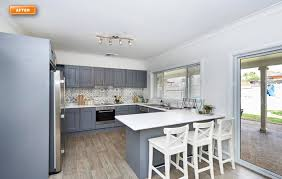 modern kitchen benchtops how to resurface a benchtop renovating for profit