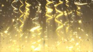 new years streamers streamers confetti 2 stock footage synthetick