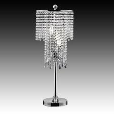 Chandalier Table Lamp Crystal Table Lamp Shades Roselawnlutheran