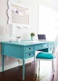 blue chalk paint desk i heart nap time