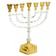 hanukkah menorahs for sale my holy shop menorah for sale cooper silver and gold
