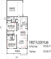 Open Modern Floor Plans Single Story House Plans Modern With Finished Basement 2 Master