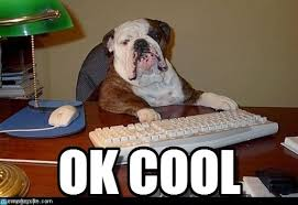 Cool Dog Meme - ok cool dog boss meme on memegen
