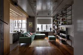 small modern apartment cherry flat small spaces