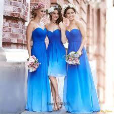 chagne lace bridesmaid dresses shop gradual change color chiffon formal bridesmaid