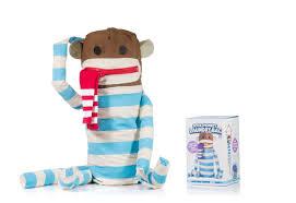 Dirty Laundry Hamper by Dirty Sock Monkey Huggable Sock Monkey Laundry Bag