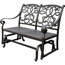 Wrought Iron Patio Swing by Furniture Antique Wrought Iron Porch Glider Design Featuring