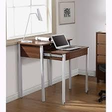Compact Modern Desk Computer Desk Space Saving Desks Retract Student Office