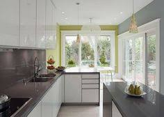 25 contemporary kitchen design inspiration orange walls gray