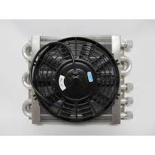 oil cooler with fan heavy duty dual circuit oil cooler electric fan maxi cool