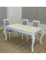 Esszimmertisch Design Barock Esstisch Design Tisch Hochglanz Weiss Real