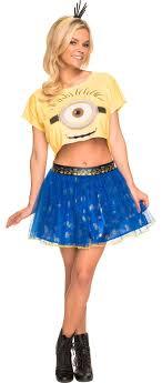 minions costume women s minion costume accessories party city