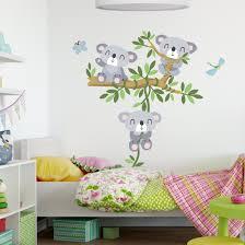 wandtattoo kinderzimmer koala set
