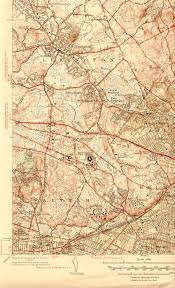 Concord Massachusetts Map by Historical Maps Waltham
