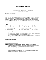 Example Of Summary On Resume Resume Summary Examples For Customer Service 2