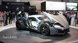 devel sixteen interior lykan hypersport w motors dubai motor show 2013 youtube
