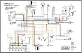 2001 sportster wiring diagram 2000 sportster xl wiring schematic