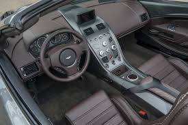 aston martin inside aston martin vantage gt12 roadster is a one off model has 592