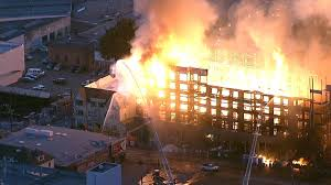 Wild Fires Near Merritt by Four Alarm Oakland Construction Site Fire Displaces Hundreds Nbc