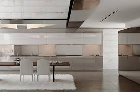 Modern White Rug by Contemporary Kitchen Best Minimalist Kitchens With Perfect