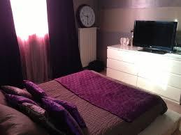 deco chambre prune chambre prune et blanc collection et chambre parentale des photos