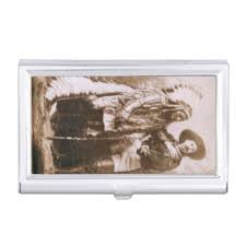 Vintage Business Card Case Native American Business Card Holders U0026 Cases Zazzle