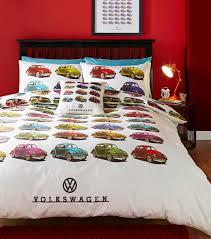 vw volkswagen beetles bed sets official licensed bedding duvet