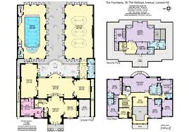 mansion floorplan amazing brick mansion floor plans 14 clever design home designs