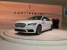 lincoln continental 2016 detroit 2017 lincoln continental makes production debut