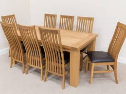 Used Dining Room Tables Charming 6 Seater Oak Dining Table And Chairs 20 For Used Dining