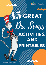 15 great dr seuss printables and activities for your classroom