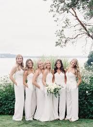 chic backyard wedding in washington once wed gowns wedding