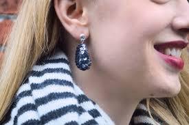 diy drop earrings diy sequin drop earrings ehow
