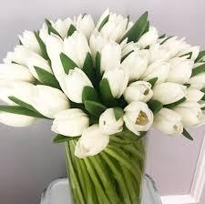 white tulips white tulips 50 tulip spiral new york florist new york