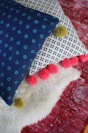 pom pom oversized floor pillow tutorial u2013 a beautiful mess