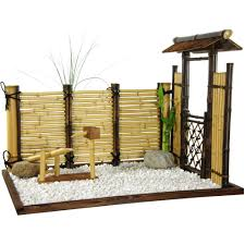 Asian Patio Furniture by Oriental Furniture Zen Bamboo Mini Garden Indoor Zen Bamboo Garden