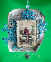 sparkle u0026 bling ornaments by marie browning tombow usa blog