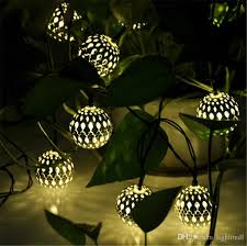 christmas tree solar lights outdoors best 3 3m 10 balls moroccan string lights solar outdoor powered led