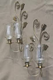 Gold Wall Sconce Candle Holder Wall Mount Candle Sconces Gold Metal Candle Holder Brackets W