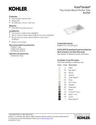 what is minimum base cabinet width kohler k 5707 0 installation guide manualzz