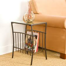 Wrought Iron Accent Table Furniture Wondrous Living Room Furnishing Choice Feat Sofa Side