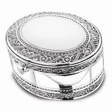 jewelry box 50 silver plated floral two tier jewelry box casa de oro jewelers