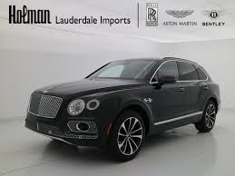 bentley bentayga silver 2018 bentley bentayga w12 onyx edition fort lauderdale fl
