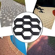 Cleaning Concrete Patio Mold Com4sport Diy Patio Walk Maker Stepping Stone Concrete Paver Mold