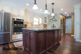 Kitchen Furniture Columbus Ohio by Signature Pearl With Brownstone Kitchen