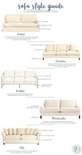 sofa style guide from ballard designs how to decorate contemporary sofa styles from ballard designs