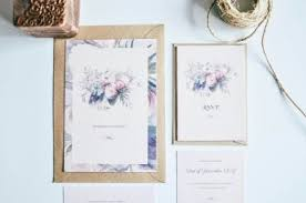 wedding invitations cork modern wedding invitations vintage bouquet wedding stationery cork