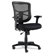 Mesh Computer Chair by Alera Elusion Series Mesh Mid Back Swivel Tilt Chair By Alera
