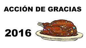 cuándo se celebra acción de gracias 2016 fecha thanksgiving 2016